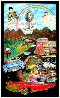 *-*art_charles_fazzino_out_of_control_route66