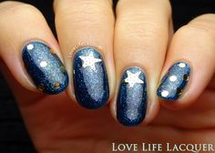 Lady Queen Starfish Nail Stickers | Nail Art & Review