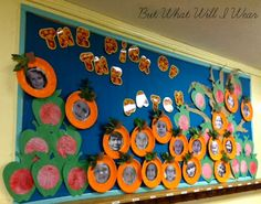 The Pick of the Patch #bulletinboards #preschool #fall