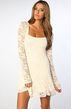 The Flirt For You Dress in Alabaster Combo by Free People #MissKL #WinYourPin
