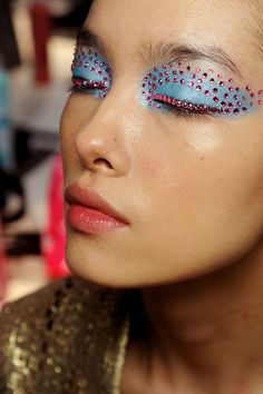 Make-up Look for Christian Dior S/S 2013