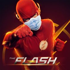 """""""Some masks hide identities. Some masks save lives. Please stay home, for your safety and the health of others. If you must go out, be a superhero and please wear a mask. The Flash 2, The Flash Season, Flash Characters, Flash Superhero, Flash Funny, Hidden Identity, Flash Wallpaper, Mickey Mouse Art, Punisher Marvel"""