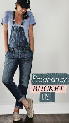 My pregnancy bucket list - a list of things to accomplish before baby is born!