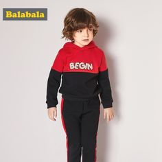 1aee0e266d Balabala new clothing sets for baby boys 2 pcs clothes set kids clothes  fashion autumn sports suits for children hoodies+pants