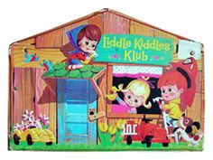 Little Kiddles - were introduced by Mattel in 1966.  They were tiny dolls, ranging from 2 1/2 to 3 1/2 inches tall, with pose-able limbs and rooted hair