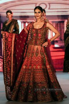 Lengha by Diva'ni at the Diva'ni Heritage Fashion Show 2014