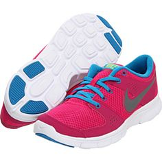 buy online e35fd 608d9 Nike flex experience run fireberry dynamic blue white metallic cool grey.  Pink Running ShoesFree ...