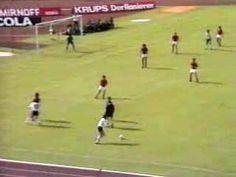 Fußball WM 1974  Deutschland-Chile 1:0  Breitners Hammertor
