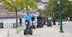Passeio de Segway pelo Porto #viagem #lisboa #portugal