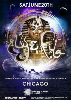 Aly & Fila Back in Chicago at Trancemission at Sound-Bar! #ChiTranceFamily #TranceFamily