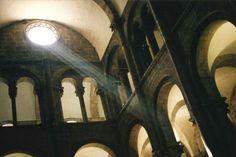 Church light in Spain