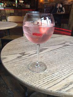 Slingsby Rhubarb Gin with Elderflower tonic