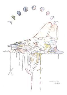 Inspiration Art, Character Design Inspiration, Art Inspo, Art And Illustration, Pretty Art, Cute Art, Aesthetic Art, Aesthetic Anime, Drawing Sketches