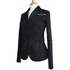 Prestatie Sport piped illusion showjumping coat. If I had a jumper, I would most definitely wear this on Sundays!