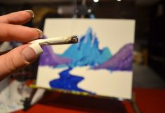 Where To Smoke In Denver: Puff, Pass, & Paint | weed | marijuana | painting | weed culture | Denver | 303 Magazine | 420