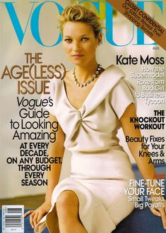Vogue US August 2008 - Kate Moss