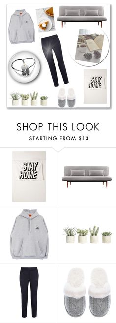 """Stay at home ♡"" by anna-miller10 ❤ liked on Polyvore featuring Urban Outfitters, Allstate Floral, STELLA McCARTNEY, Victoria's Secret and Orrefors"