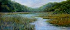 Serene Seclusion by Sandy Askey-Adams in the FASO Daily Art Show