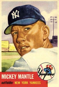 Mickey Mantle Topps (1953)
