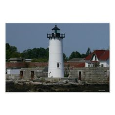 New Hampshire Lighthouse Poster Thank you North from Hudson, NH, for buying this print of my photography!