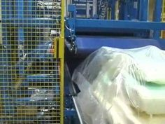 SV164 Inline Automatic -Top Compression - Wrapping Automotive Foam Seat Cushions.wmv