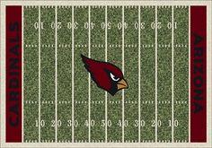 Arizona Cardinals Home Field Area Rug