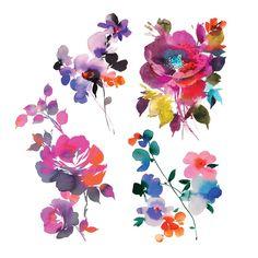 In Bloom Set #Bachelorette #Botanical #Bridal
