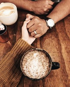 Beautiful days include coffee and you coffee date lovey dovey, love story, Couple Style, Love Couple, Couple Goals, Hand Photography, Coffee Photography, Engagement Photography, Couple Posing, Couple Shoot, Divorce