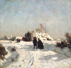Otto Modersohn- Neujahrstag/New Year's Day