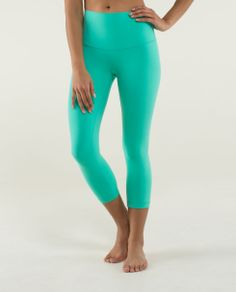 Patiently awaiting this arrival. High waist option is perfect for inversions! Bali Breeze :) #wunderunders #lululemon