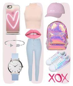 Designer Clothes, Shoes & Bags for Women Bubble Gum, Bling Jewelry, Miss Selfridge, Casetify, River Island, Bubbles, York, Shoe Bag, Polyvore