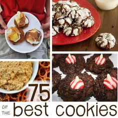 75 Christmas Cookie Recipes We Adore - Need to make some of these for parties and cookie exchange!