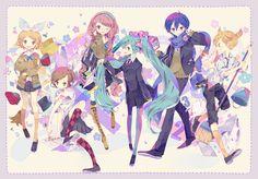 """""""39"""" Vocaloid fanart by yumenouchi #Hatsune Miku #Vocaloid"""