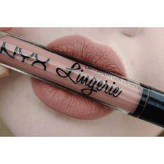 NYX Lip Lingerie Liquid Matte Lipstick :: PUSH UP