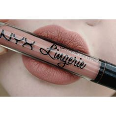 NYX Lip Lingerie Liquid Matte Lipstick :: PUSH UP