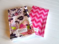 $16.99, Two Burp Cloths using Diaper Service Quality Prefolds - Baby Accessories - New Mom Gift - Made to Order