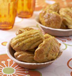 Madeleines au comté et curry, de David Zuddas, la recette d'Ôdélices : retrouvez les ingrédients, la préparation, des recettes similaires et des photos qui donnent envie !