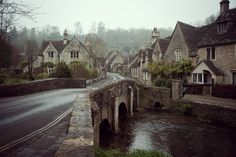 British, classically British - The Cotswolds in Autumnal glory, a beautiful image.