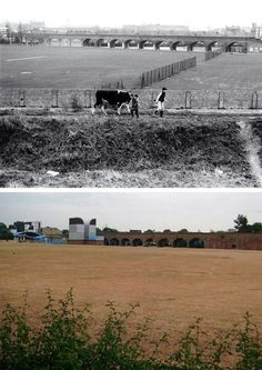 Then 1978 Millwall park and now...