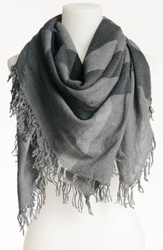 Burberry Check Merino Wool Scarf available at #Nordstrom