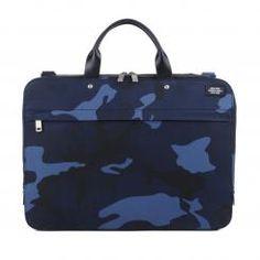 waxwear Slimbrief (blue camo) Jack Spade, New York, Blue Camo, Suitcase, Lunch Box, High, Edc, Notebook Bag, Beautiful Bags