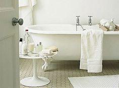 mooie tegels in de badkamer