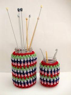 Jar cover chrochet pattern
