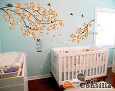 Baby Nursery Wall Decals Tree Wall Decal Tree by WallConsilia