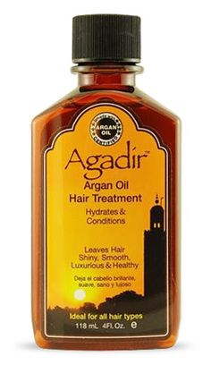 Check out Agadir Argan Oil Hair Treatment, a non dry, non greasy and absorbs instantly into the hair. Hair is nourished, moisturized and strengthened instantly