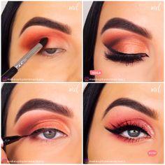 Smoky Eye Makeup, Eye Makeup Steps, Hooded Eye Makeup, No Eyeliner Makeup, Makeup For Brown Eyes, Skin Makeup, Sephora Makeup, Eyeshadow, Perfect Winged Eyeliner