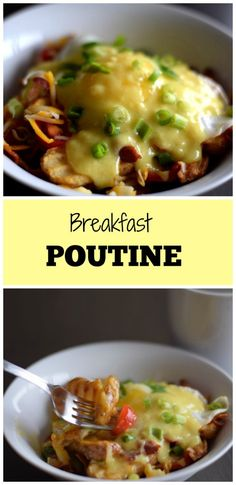 Breakfast Poutine |Small Town Sauté|