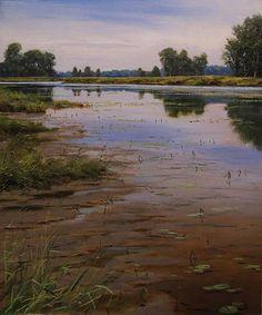 Renato Muccillo Fine Arts Studio - Mud Flats in August