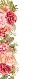JPG Wedding Templates for Commercial Use rsvp thank you Flower Background Wallpaper, Flower Backgrounds, Wallpaper Backgrounds, Wallpapers, Print Wallpaper, Glitter Roses, Gold Glitter, Pink Roses, Molduras Vintage