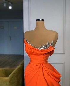 2 more 🍊 Glam Dresses, Event Dresses, Occasion Dresses, Fashion Dresses, Formal Dresses, Pageant Dresses, Stunning Dresses, Pretty Dresses, African Prom Dresses